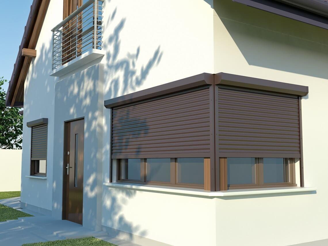 Żaluzje fasadowe czy rolety zewnętrzne